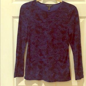 Ralph Lauren Printed Long Sleeve Shirt